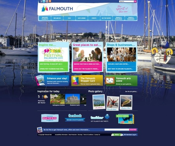 Falmouth website