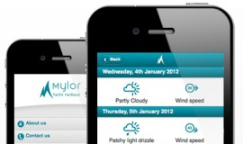 Mylor mobile site