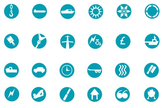 Mylor icon design