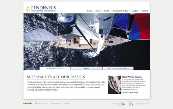 Pendennis website