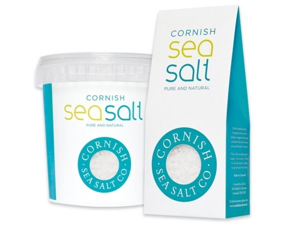 Cornish Sea Salt packaging