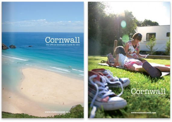 Visit Cornwall 2011 covers